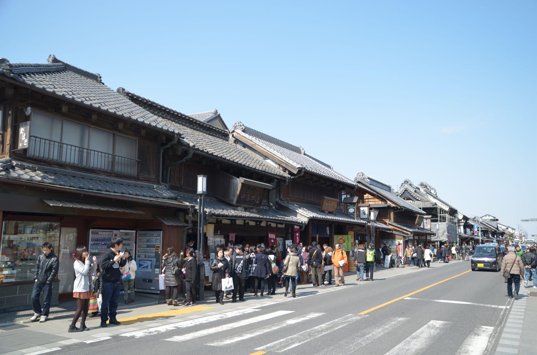 人気の街「小江戸」川越