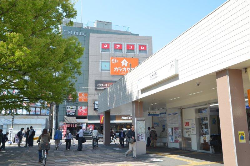 駅から見える!久米川駅徒歩1分の好立地